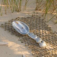OCEAN - Shell Ice Scoop • gift for a guy #beatrizball #handmade #luxury