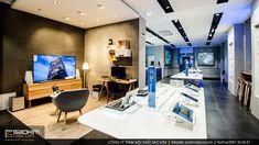 Thiết kế showroom điện thoại đẹp sẽ thu hút được nhiều khách hàng ghé thăm. Theo khảo sát chủ yếu khách hàng đến cửa hàng là những người trẻ, người thích đổi model. Thường những khách hàng này khá am hiểu về công nghệ. Vì vậy thiết kế mẫu thiết kế showroom cần trẻ trung, phù hợp thời đại. #saokimdecor #phone #showroom #shop #designshowroom #designshop #phoneshowroom #phonestore #carpet #chair #table #interior #interiordesign #design #designs  #interiors #インテリア #interieur #innenraum #nộithất Design Shop, Interior S, Conference Room, Table, Furniture, Home Decor, Room Interior, Decoration Home, Room Decor