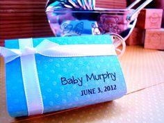 Custom Baby Boy Shower Favors by Sosia on Etsy, $20.00