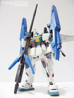 BANDAI / HGUC / RGM-86R GM III + G-DEFENSER