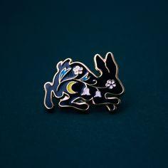 Tiny Bunny pin by Moni