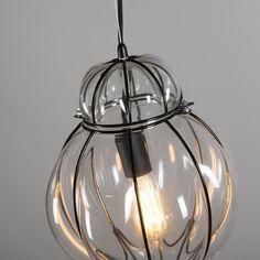 Pendant Lamp Venice 2 Black