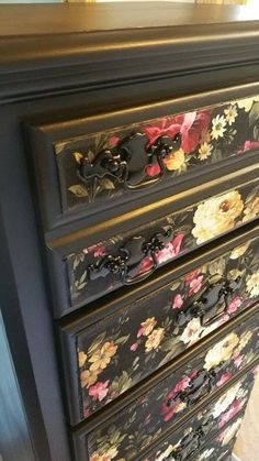 Hey, I found this really awesome Etsy listing at https://www.etsy.com/listing/176906029/available-painted-vintage-lingerie-chest