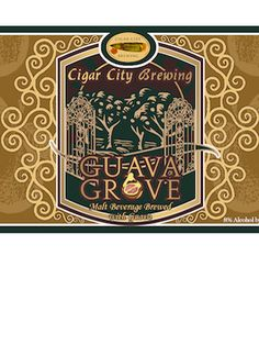 Cigar City Brewing Co ....Guava Grove label art