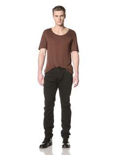 65% OFF Silent by Damir Doma Men\'s Pryor Fitted Pants (Vintage Black)