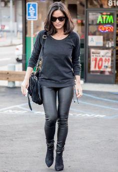 Ragdoll Los Angeles Lace Up Sweatshirt as seen on Olivia Munn  $169