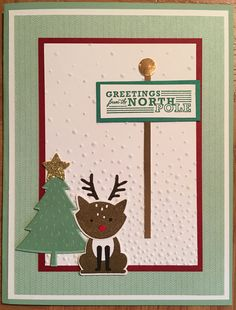 Stamping Up Foxy Friends and Greetings from Santa.