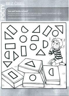 Kam patří kostky na hraní (geometrické tvary, počty, třídění)   Výtvarná výchova Education, Geo, Onderwijs, Learning