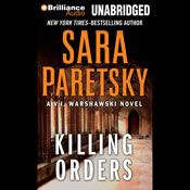 I finished listening to Killing Orders: V. I. Warshawski #3 (Unabridged) by Sara Paretsky, narrated by Susan Ericksen on my Audible app.  Try Audible and get it free.
