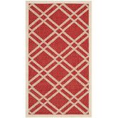 Found it at Wayfair - Courtyard Red/Bone Outdoor Rug Kitchen?