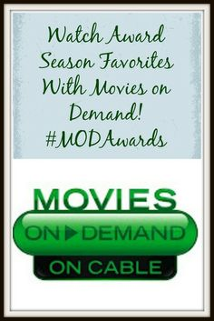 Watch Awards Season Favorites With Movies On Demand!  #MODAwards #Ad