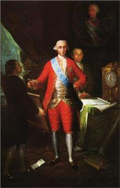 El conde de Floridablanca - Francisco de Goya