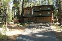 Tahoe Executive Home - forest land and both sides of house for added privacy