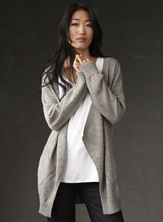Eileen Fisher Ad (NY Times), styled by Allegra Colletti http://allegracolletti.com/