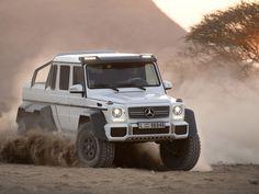 Mercedez Benz G63 AMG; El verdadero mounstruo del desierto, ¿Lobo SVT Raptor? Bitch please...