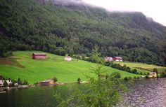 farms   The Svor and Seljeset farms inHornindal, Nordfjord County, Norway.