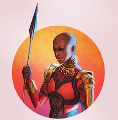 Okoye, General of the Dora Milaje Marvel Films, Marvel Art, Marvel Universe, World Of Wakanda, Wakanda Marvel, Panther Pictures, Dora Milaje, Best Superhero, Black Characters