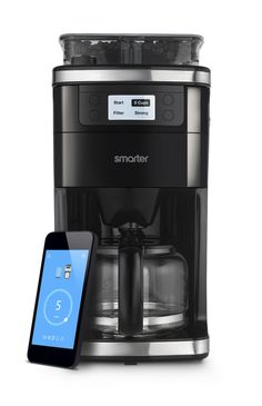 Smarter Coffee - Wifi App Controllable, Grind And Brew Coffee Machine Coffee Maker Machine, Drip Coffee Maker, Coffee Cups, Coffee Set, Coffee Beans, Home Coffee Machines, Wifi Connect, Smart Home Technology, Cafetiere