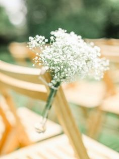 Baby's breath bouquets: http://www.stylemepretty.com/little-black-book-blog/2015/02/09/quintessential-vintage-english-wedding-at-burloes-hall/ | Photography: Belle and Beau - http://belleandbeaublog.com/