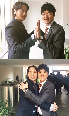 Misaeng: Another bromance Suk Yool and his boss.