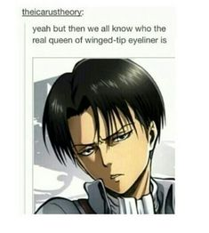 FABULOUS LEVI IS THE SASSIEST MAN WHO WILL EVER WEAR EYELINER NOBODY CAN ROCK EYELINER LIKE HE CAN