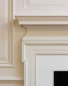 Timeless elegance, classical fireplace and mouldings _