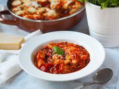Boloňská omáčka s gnocchi – Hungrypanda.cz Gnocchi, Chili, Soup, Chile, Soups, Chilis