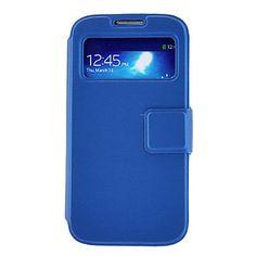 pu leer flip met standaard kaarthouder slapen en wakker functie case voor Samsung Galaxy i9500 s4 – EUR € 6.43