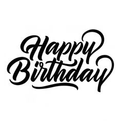 Caligraphy happy birthday calligraphy hand lettering new ideas