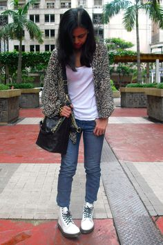 fbf8f6a753c6 Discover this look wearing White Dr Martens Boots