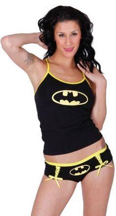 DC Comics Batgirl Cami & Panty Set for women - List price: $36.95 Price: $25.95 Saving: $11.00 (30%)
