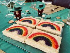 Lemon Sheet Cake Recipe, Sheet Cake Recipes, Purple Food Coloring, Wooden Rainbow, Brownie Batter, Cinnamon Rolls, Rainbow Colors, Baking, Desserts