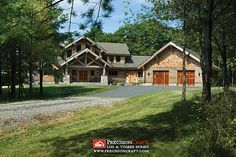 Located in Maine | Milled Log Home | PrecisionCraft Log Homes | Flickr - Photo Sharing!