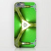 Green pattern / triangle iPhone 6 Slim Case
