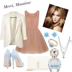 Blue Baby by zachariah-miller on Polyvore featuring polyvore, fashion, style, Lara Khoury, Dee Keller, Yves Saint Laurent, Larkspur & Hawk, Swarovski and Marc Jacobs