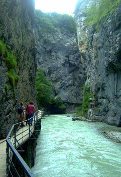 Aareschlucht Switzerland