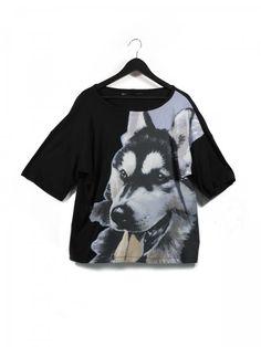 """Tee-shirt """"Loup"""" - bureaudemode.com"""