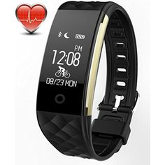 Bitwatch HR Pro Activity and Fitness Tracker - Smart Sports Watch with Heart Rate Monitor Step Pedometer Sleep Monitor Bicycle Exercise Timer -- Details can be found by clicking on the image. (This is an affiliate link) #Accessories