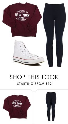 """Untitled #504"" by cuteskyiscute ❤ liked on Polyvore featuring Converse"