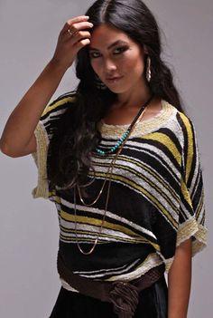 Eternal Sunshine Bianca Off Shoulder Top in Black Mix
