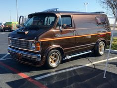 Customized 1979 Dodge Van. Spotted at 2016 Council of Councils.