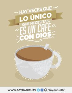 Resultado de imagen para cafe con Dios