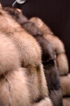 Sable fur.