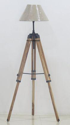 NAUTICALMART ROYAL MARINE TRIPOD FLOOR LAMP | Nauticalmart Exclusive ...