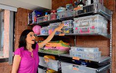 1000 id es sur tag res de garage sur pinterest rangement de garage organi - Systeme de rangement pour garage ...
