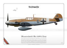 Me.109G-2 Trop 'Black 6' Luftwaffe