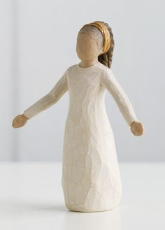 """Willow Tree Figurine-Blessings  """"Each day, unexpected blessings"""""""