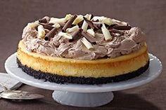 PHILADELPHIA Triple-Chocolate Cheesecake