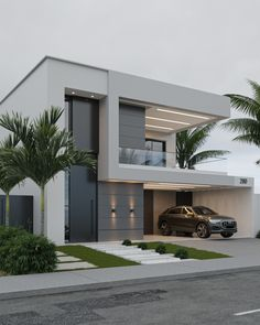 House Arch Design, Architect Design House, House Outside Design, Home Building Design, Bungalow House Design, Building A House, Best Modern House Design, Modern Villa Design, Modern Exterior House Designs