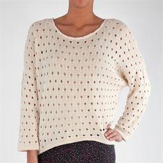 Cotton Emporium Juniors Dolman Sleeve Sweater with Pointelle Knit #VonMaur #CottonEmporium #Sweater